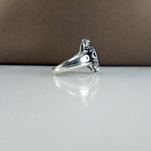انگشتر حدید صینی مردانه